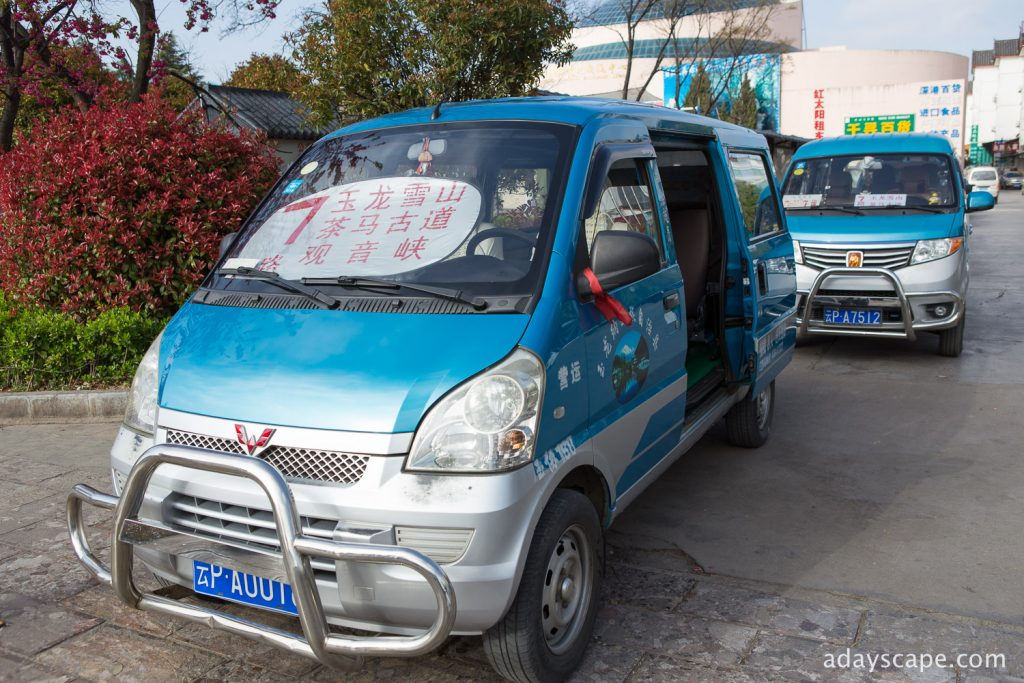 Van no.7 to Jade Dragon Snow Mountain