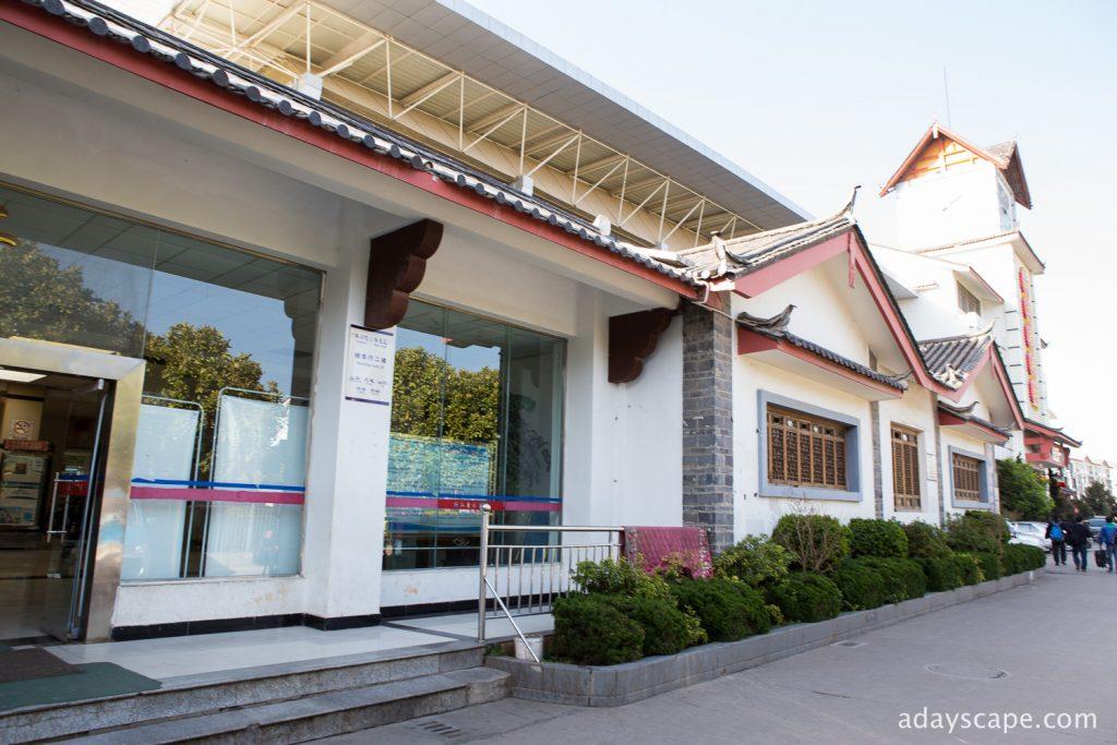 Lijiang new bus station 02