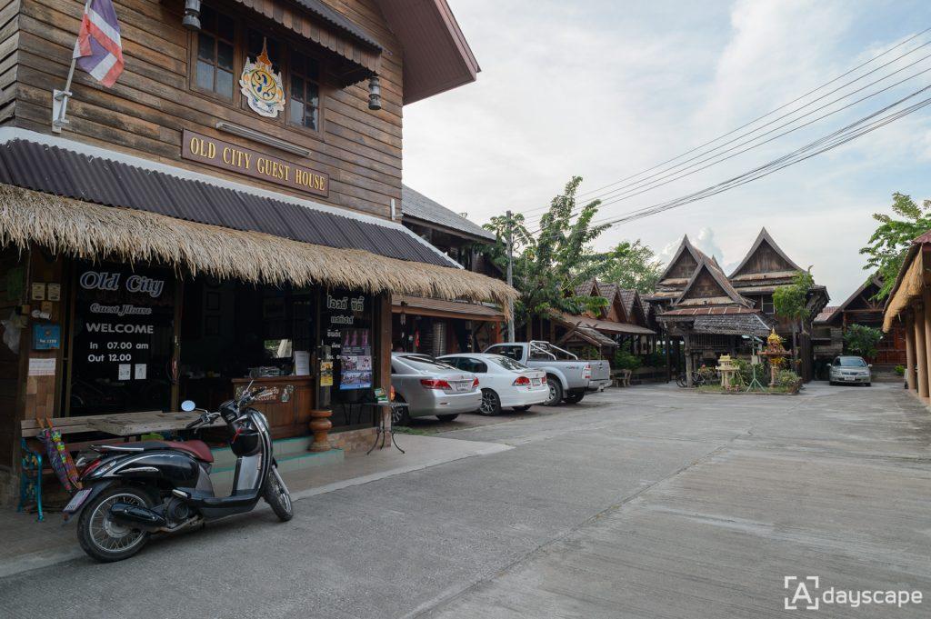 ที่พักสุโขทัย ใกล้อุทยานประวัติศาสตร์ : Old City Guest House 1