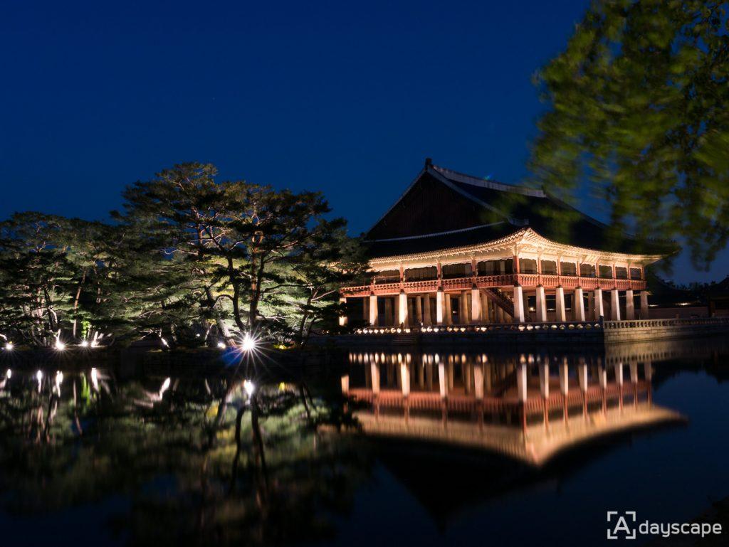 Gyeongbokgung Palace Night 3