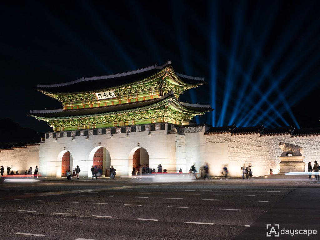 Gyeongbokgung Palace Night 1