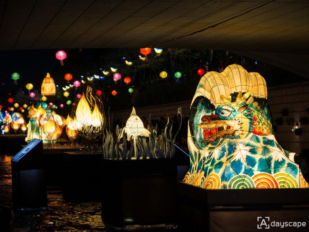 Lotus Lantern Festival 7 Cheonggyecheon Stream