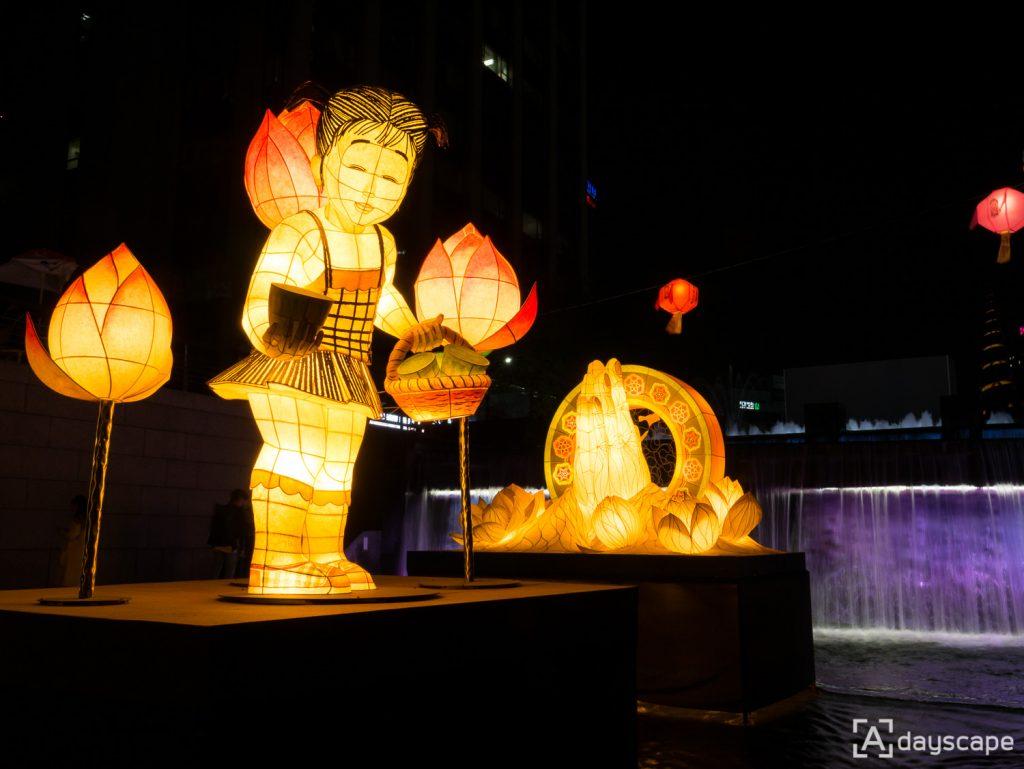 Lotus Lantern Festival 8 Cheonggyecheon Stream