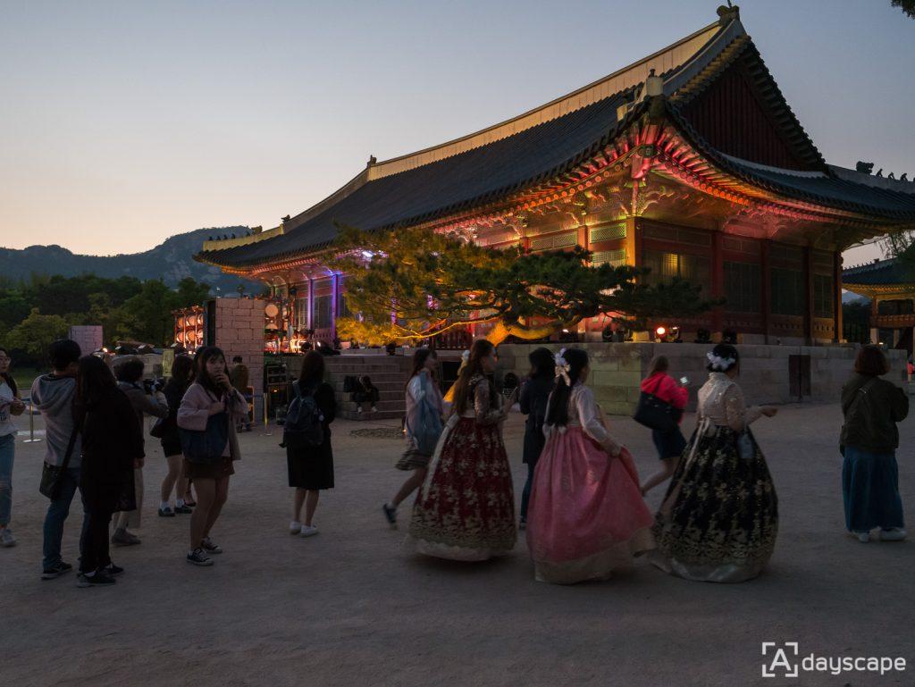 Gyeongbokgung Palace Night 4