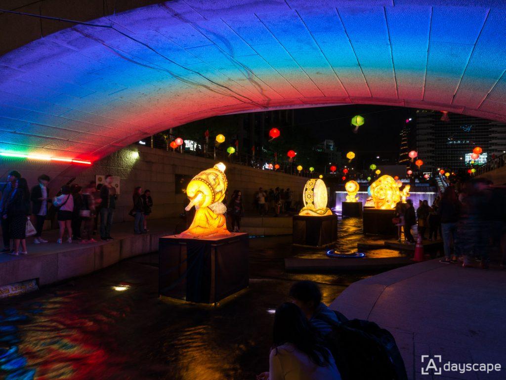 Lotus Lantern Festival 9 Cheonggyecheon Stream