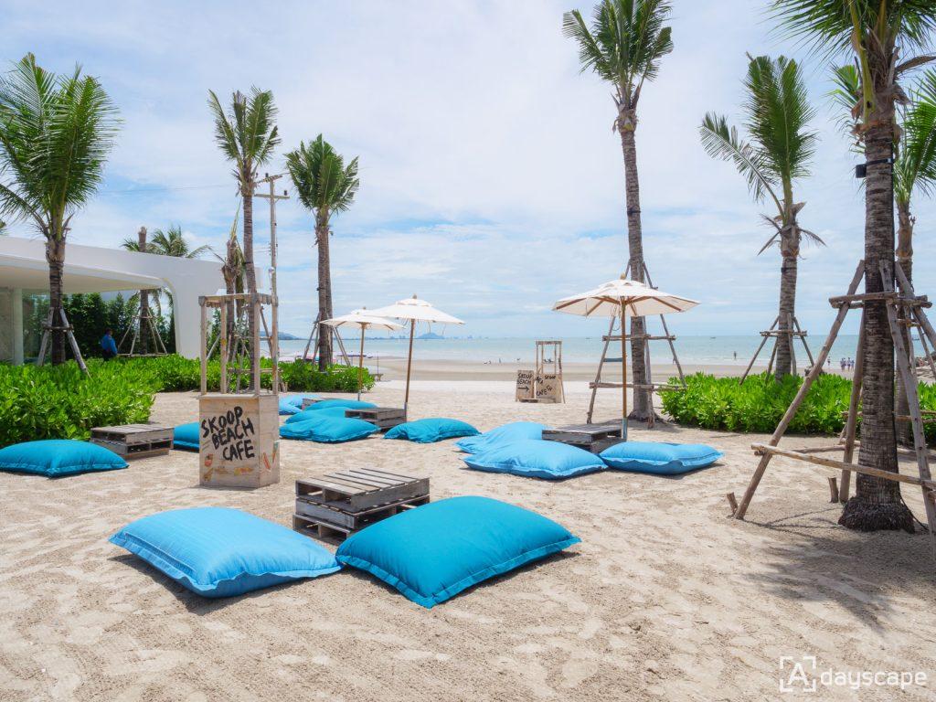 Skoop Beach Cafe 3 - คาเฟ่ หัวหิน