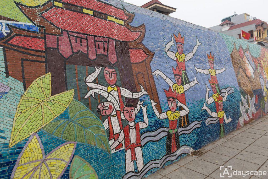 Hanoi Ceramic Mosaic Mural 2